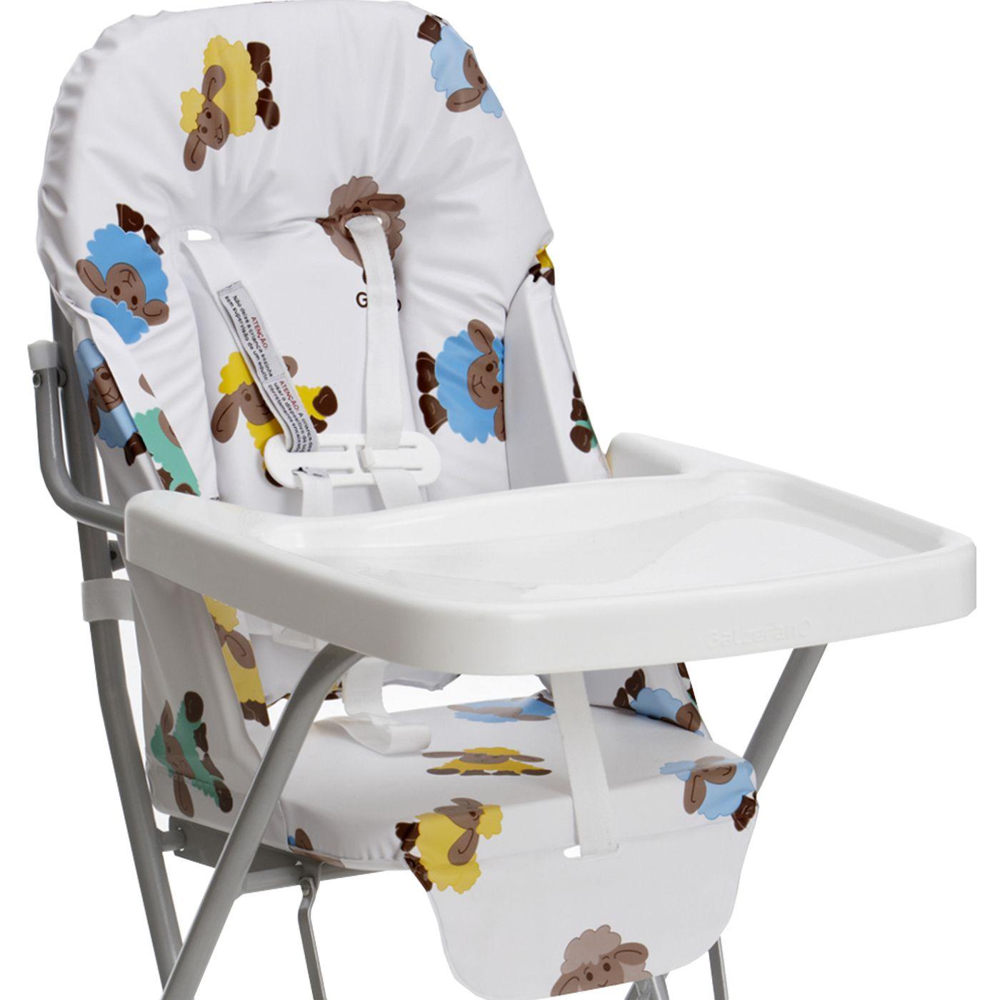 Cadeira para Refeição Standard da Galzerano Ovelhinha J. Mahfuz #A28D29 1600x1600
