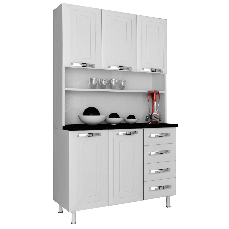 Kit Cozinha Colormaq Class Master 5 Portas e 4 Gavetas Branco J  #A32C28 1600 1600
